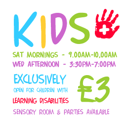 Sensory Room - Little Rascals - indoor soft play centre